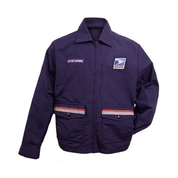 postal uniforms letter carrier bomber jacket with liner unisex